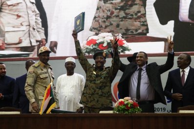 Sudan peace deal signing