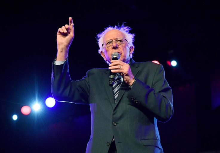 Bernie Sanders Says 'We Will Go to War Against White Nationalism and Racism'