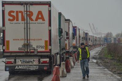 Trucks Channel Crossing