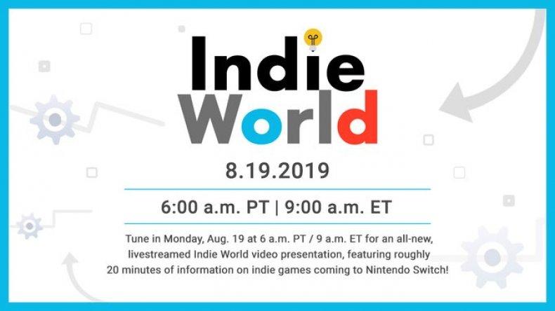nintendo direct indie world livestream gamescom
