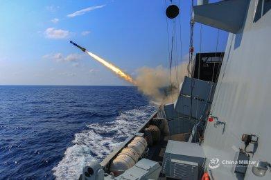 china military navy decoy exercise