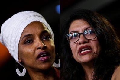 Ilhan Omar, Rashida Tlaib ridicule Israel ban