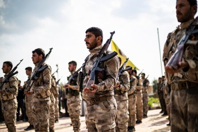 syria ypg kurdish fighters