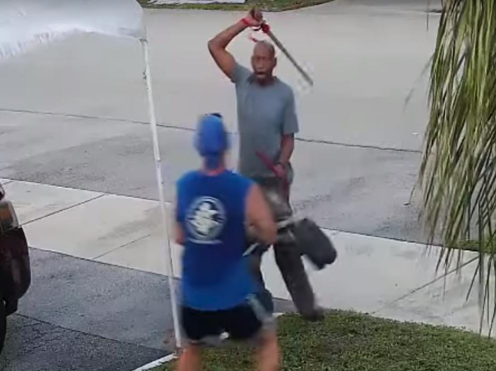 Man attacks woman with Samurai Sword on Holloway Road