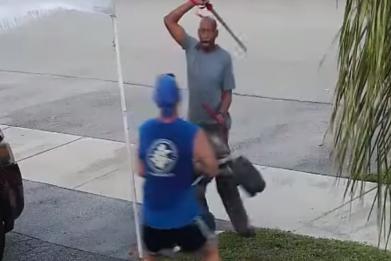 Florida Man Sword Attack