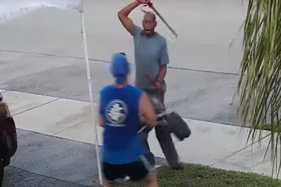 Florida Man Sword Attack