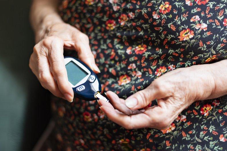 diabetes, glucose monitor, type 2, stock, getty,