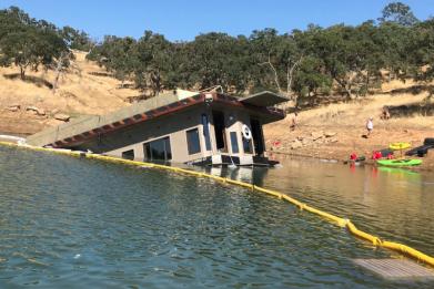 Don Pedro Lake Boat Sinking