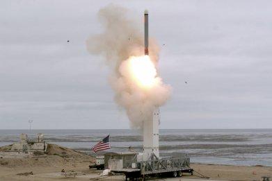 us cruise missile test inf treaty