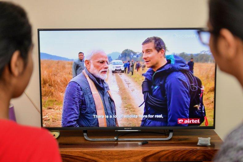 'Man vs Wild' with PM Modi
