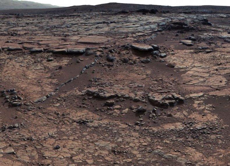 ancient Mars lake