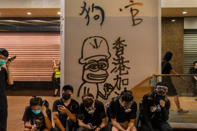 china hong kong pepe protests