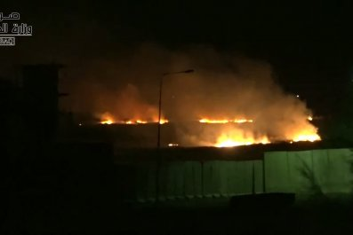 iraq explosion military base