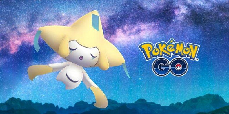 pokemon go jirachi special research task