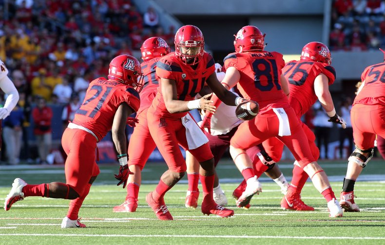 Arizona Wildcats, College football
