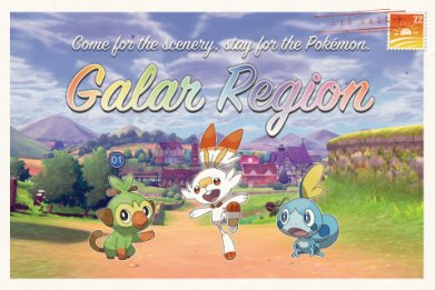 pokemon sword shield galar region tourist pax