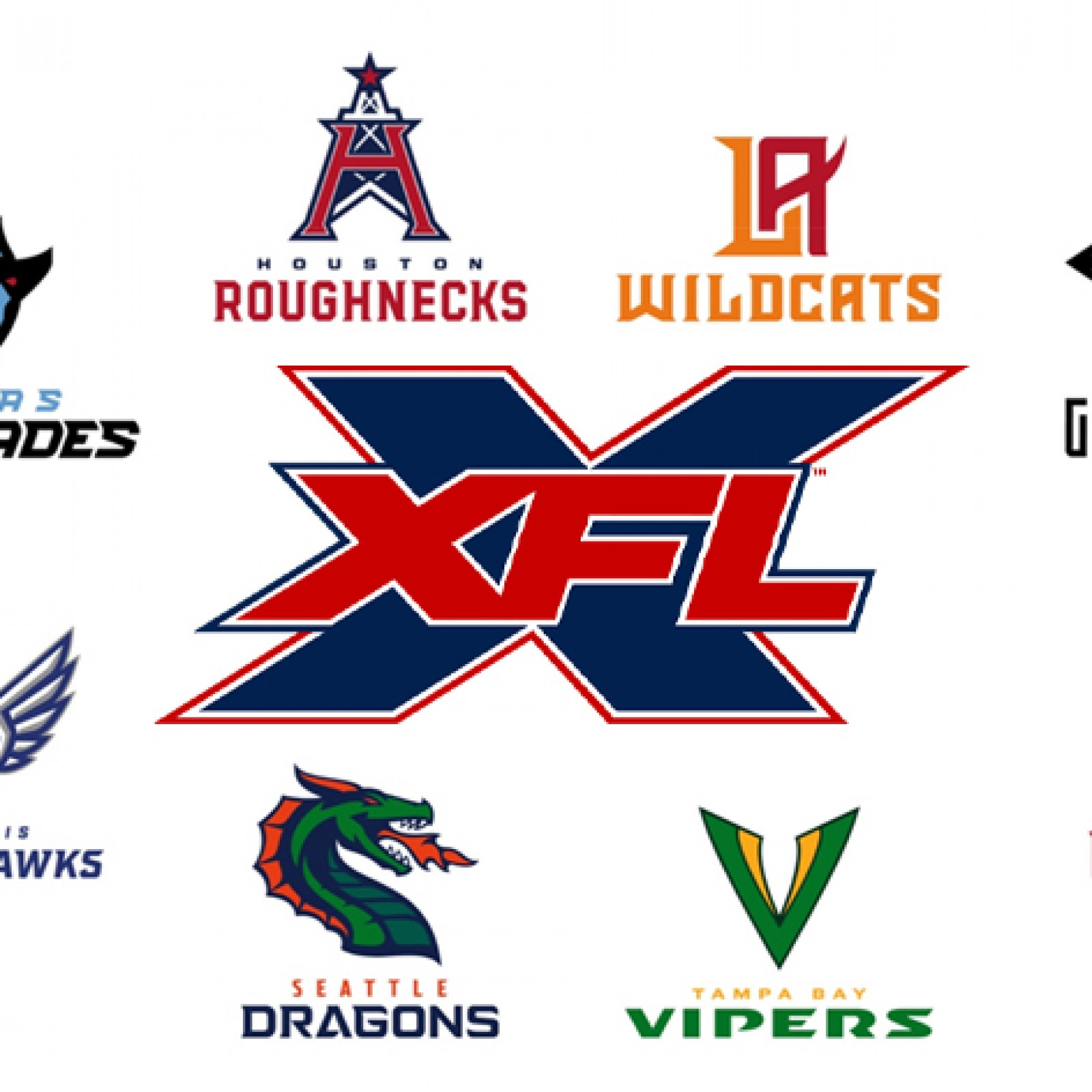 XFL Team Names and Logos: From the New York Guardians to the