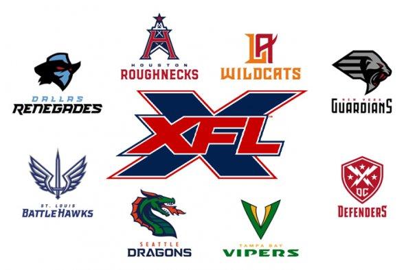 xfl 2020 team name logo reveals