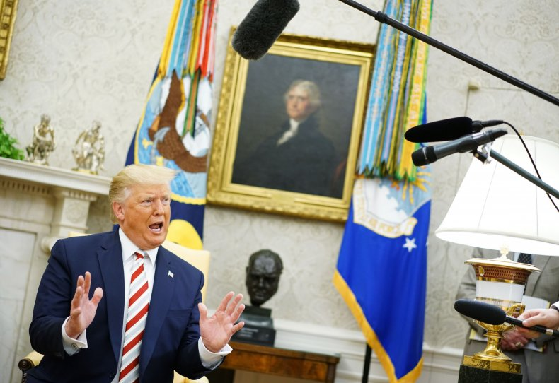 Trump Meeting Romania President