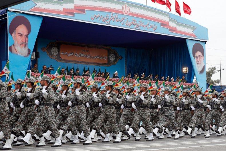 iran military parade hassan rouhani
