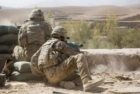 us soldiers afghanistan taliban battle