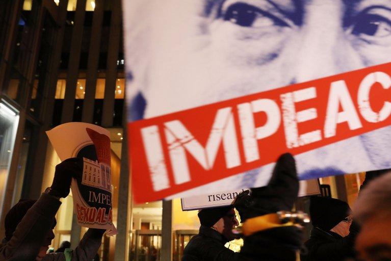 targeted House Democrats support impeachment