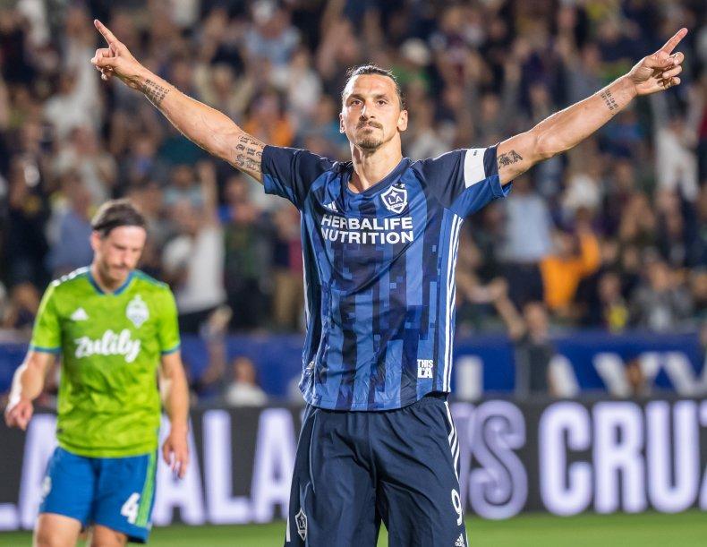 Zlatan Ibrahimovic, Los Angeles Galaxy