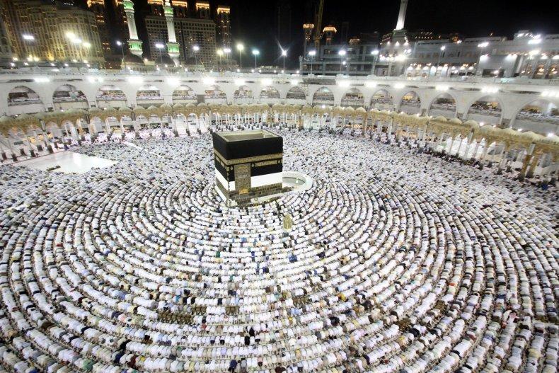 muslim, hajj, mecca, kaaba, grand mosque, saudiarabia,