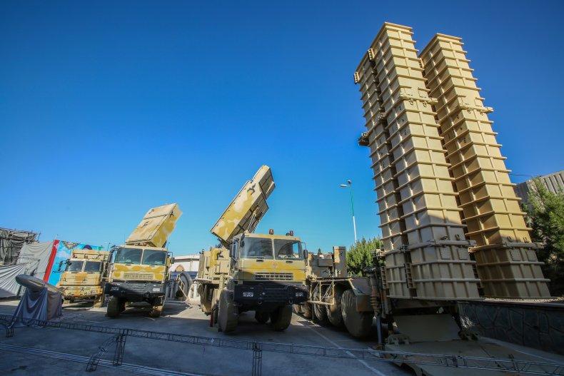 iran military missile air defense