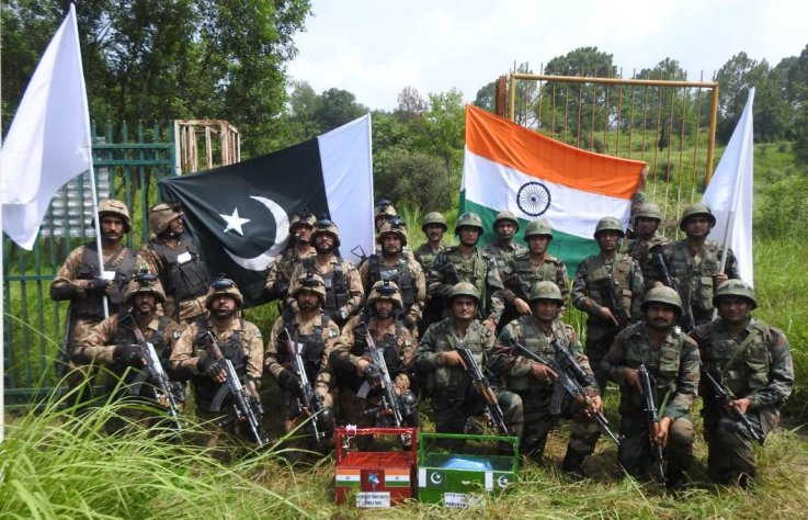 pakistan india troops eid border