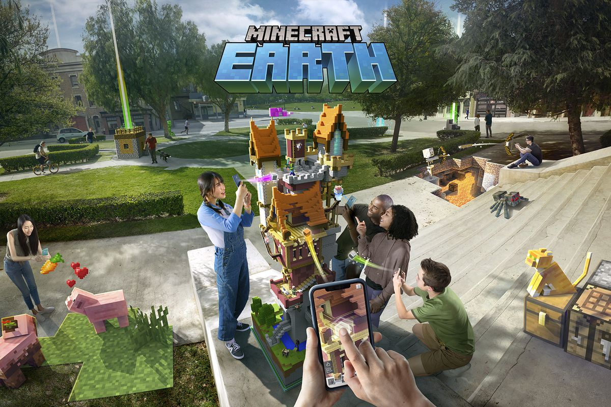 Minecraft Earth Android Beta Sign Up Live How to Play the AR