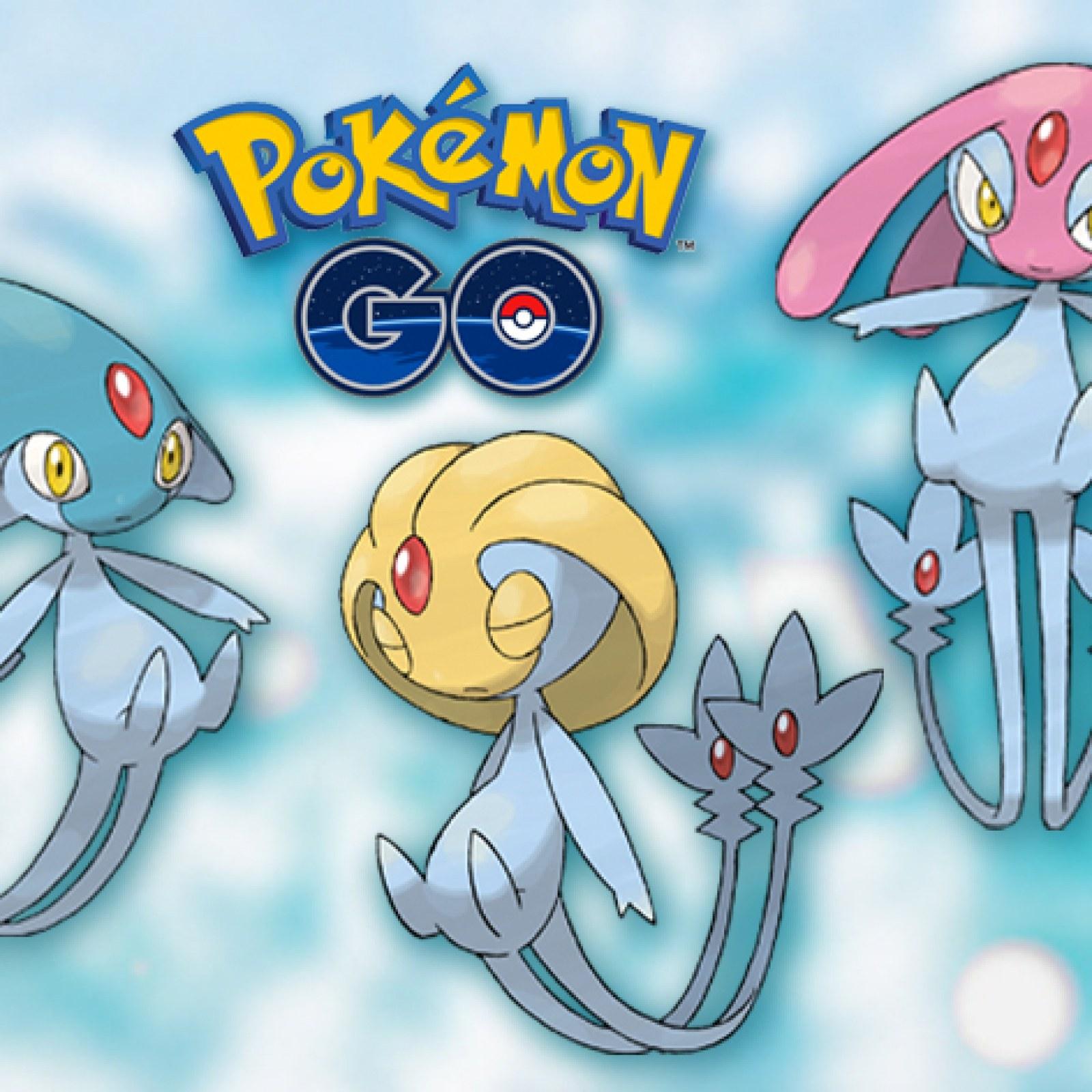 Pokémon Go Water Festival Raid Update Azelf Mesprit Uxie Return