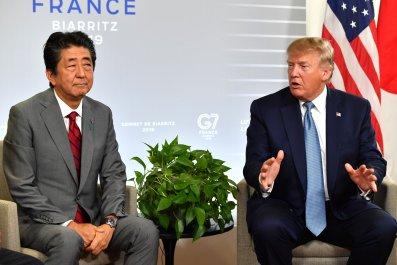 Shinzo Abe Donald Trump G7