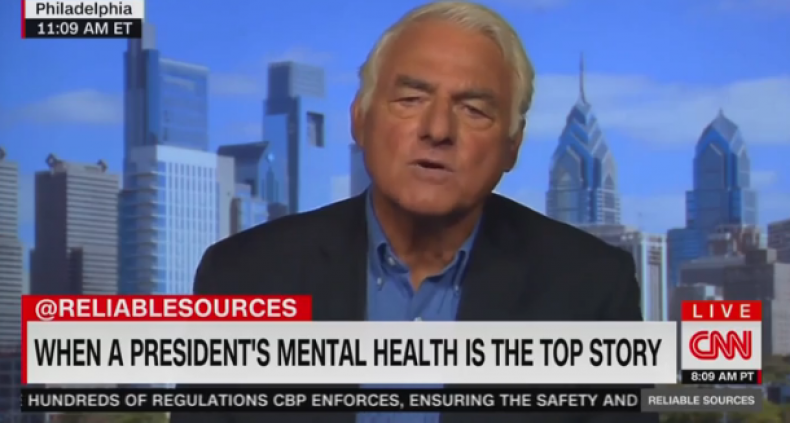 cnn psychiatrist diagnose trump hitler