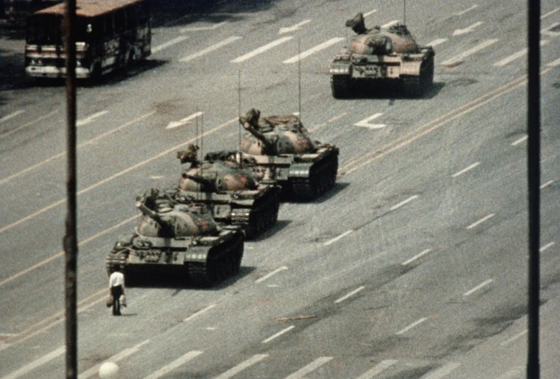 Tank Man, Tiananmen Square protests