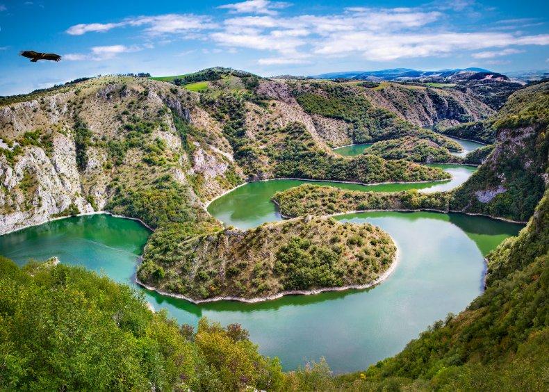 Uvac river Sebia