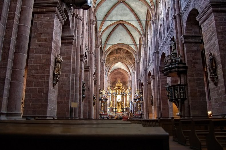 St Peters Cathedral Worms Rhineland