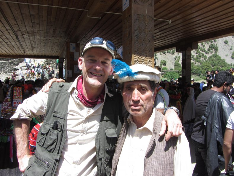 Jonny with Saifullah Jan