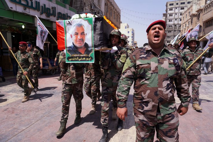 iraq popular mobilization militia defense israel