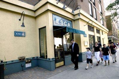 ESCA new york seafood restaurant