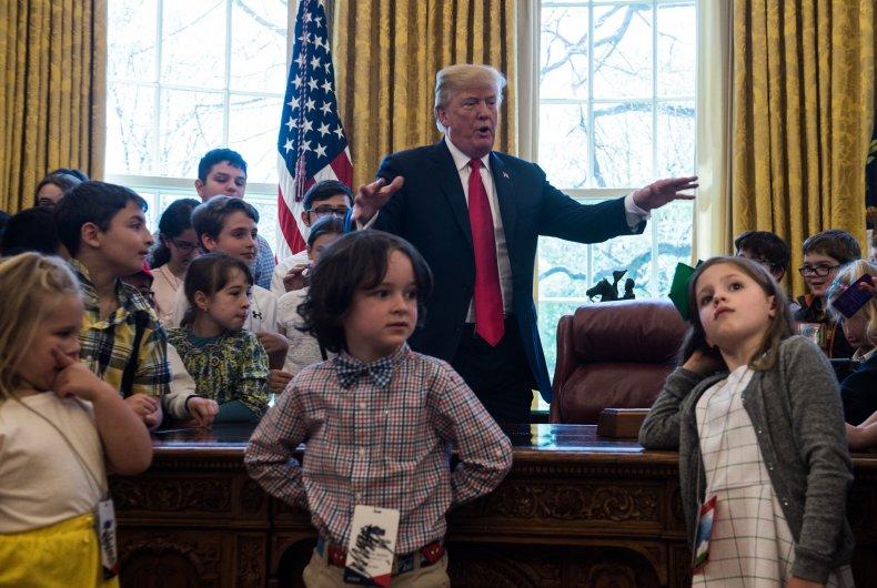 Trump with Children