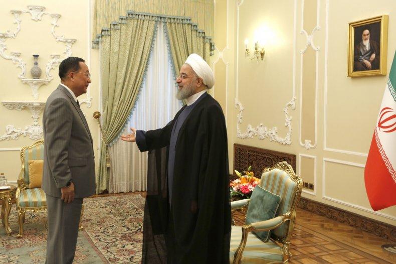 north korea iran meeting tehran