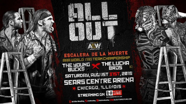 young bucks lucha bros all out aew