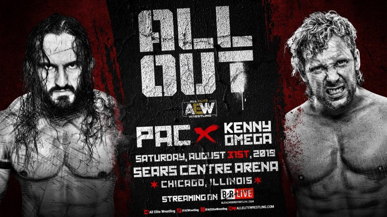 aew all out pac kenny omega