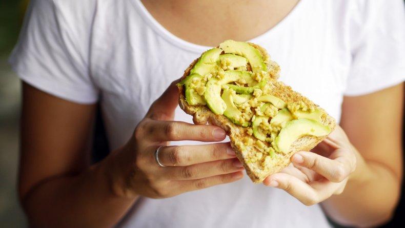 avocado toast, cheese, stock, getty, snack,