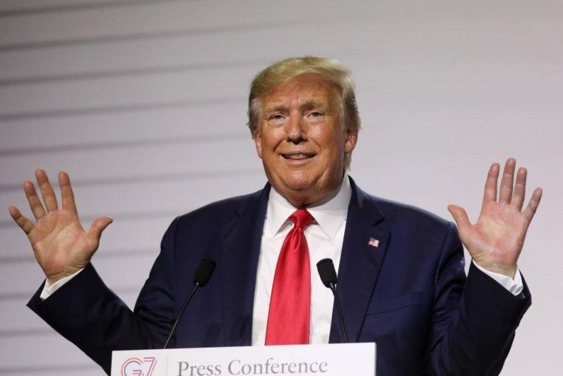 Donald Trump at G-7