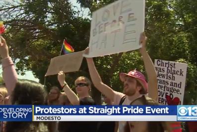 straight pride modesto