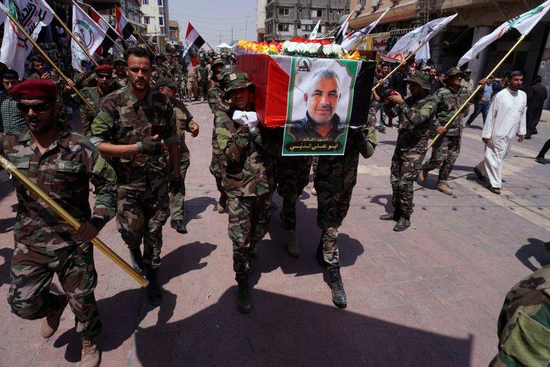 iraq popular mobilization forces israel strike