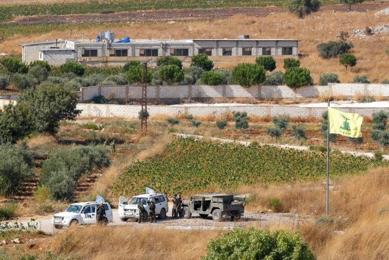 israel lebanon border hezbollah