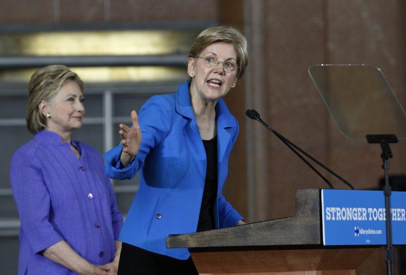 Elizabeth Warren Pocahontas Hillary Clinton
